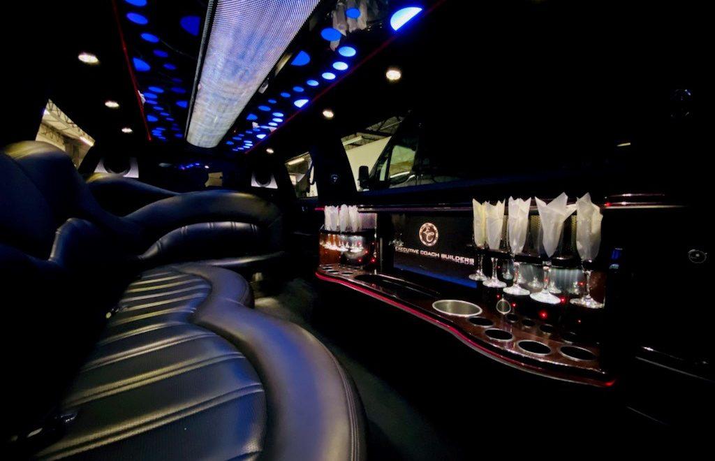Daytona limo - Lincoln interior